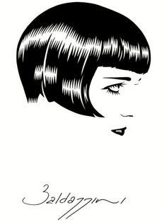 Louise Brooks artwork