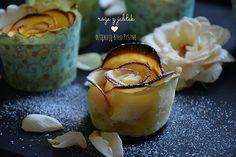 Róże z jabłek, czyli jabłka w cieście francuskim