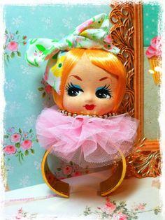 Vintage Doll Head Bracelet.