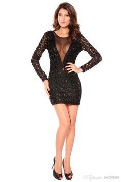 2015 Top Fashion Night Out  amp  Club Bodycon Dresses Phone Cases Fall New Ladies  Sequins 8845057d2084
