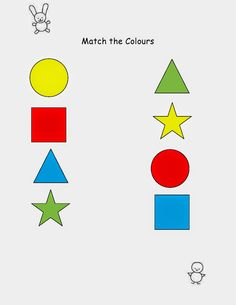 My Life As a MAA: Match the Colours Worksheet