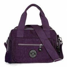 Women Casual Crossbody Bag Nylon Waterproof Handbags Shoulder Bag