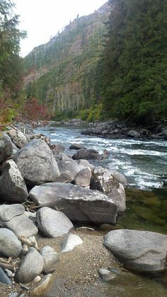 Wenatchee River Washington