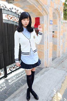 Very cute & sarangseureowo~ Karen ❤ Korean Fashion