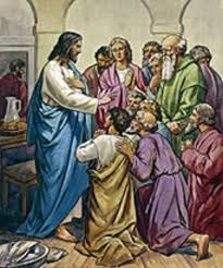"""April 22nd - John 6:35-40: Jesus said to the crowds, """"I am the bread of life; whoever comes to me will never hunger, and whoever believes in me will never thirst. But I told you that although you have seen me, you do not believe. Everything that the Father gives me will come to me, and I will not reject anyone who comes to me, because I came down from heaven not to do my own will but the will of the one who sent me."""