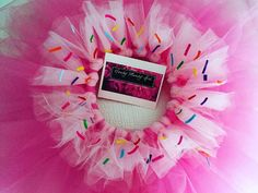 Cupcake tutu sweet tutu donut tutu skirt ombre by HandyMandyGirl