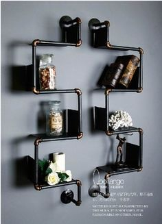 American country to do the old iron pipes bookcase shelving industrial pipes wrought iron shelves shelves