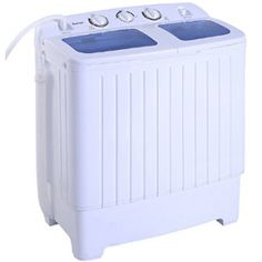 Giantex Portable Mini Compact Twin Tub Washing Machine Washer Spin Cycle – The Best Washer & Dryer