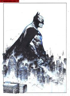 Dc Comics Characters, Dc Comics Art, Comic Books Art, Comic Art, Superhero Sketches, Batman Universe, Dc Universe, Japanese Art Styles, Batman Artwork