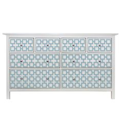 O'verlays Harper Multi Kit for Ikea Hemnes 8 drawer dresser. Classic home decor that works with any style of decorating. An easy diy furniture makeover.
