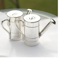 Watering Can Cruet Set by Whisk Hampers, the perfect gift for Explore more unique gifts in our curated marketplace. Perfect Gift For Him, Salt And Pepper Set, Table Accessories, Salt Pepper Shakers, Stuffed Peppers, Canning, Design, Gifts, Hampers