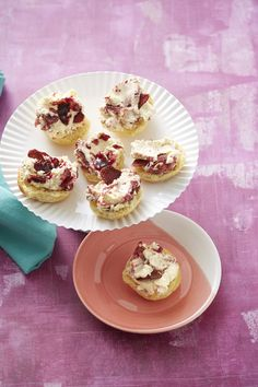 with a fancy twist on classic scones and cream with our Mini Scones ...