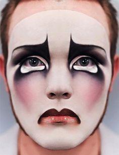sad clown makeup - Google Search