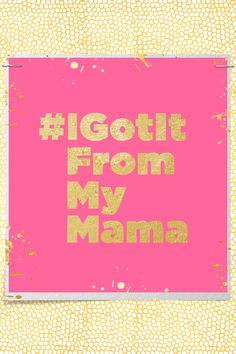 jcpenney:  Want us to feature a sketch of you and your mom on JCPLookbook.com this Mother's Day? Then show us what you got from your mom with #IGotItFromMyMama and #JCPSketchMe.