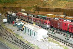 Model Railroad Yards | Model Railroad: Rock Island yards in HO-Gauge