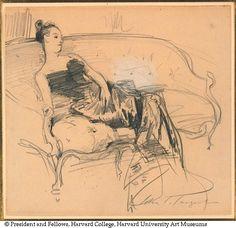 Study of Madame X John Singer Sargent