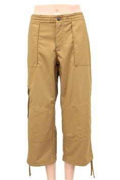 Patagonia Brown Cargo Sport Capri Pants Size 6