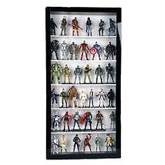 Geek Cave, Geek Room, Toy Display, Watch Display, Display Cases, Display Ideas, Gi Joe, Action Figure Display Case, Man Cave Office