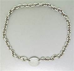 Tiffany & Co. Sterling Tag Necklace. Available @ hamptonauction.com for the March 16, 2014 auction!