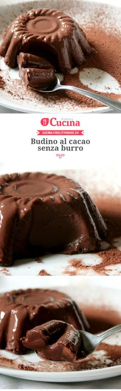 #Budino al #cacao senza burro della nostra utente Sanny. Unisciti alla nostra Community ed invia le tue ricette!