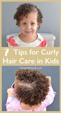 Learn how to maximize curl definition and embrace your child's naturally curly hair with these 7 tips for curly hair care in kids.