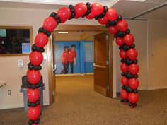 link-o-loon | balloon-arch To special order balloon colors, letter balloons, please call at least 2 weeks in advance. Call Red Party Hat for a quote. We can package a similar arch which will require minimal assembly so you don't have to pay for an installer, or we can install it for a small fee.