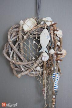 """Türkränze - Türkranz Sommer """"Fischernetz"""" - ein Designerstück von Rotkopf-design bei DaWanda"""