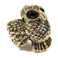 Owl Wings Ring