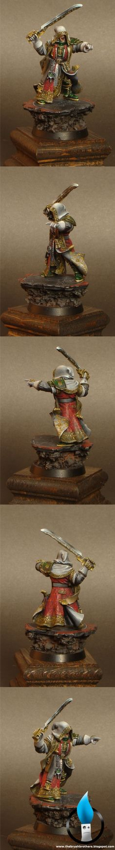 Inquisitor Lok.  I don't like that he looks like he's smiling, but an excellent paintjob.