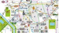 La compañía distribuye 100.000 ejemplares con un diseño que destaca edificios y puntos de interés turísticos de la capital