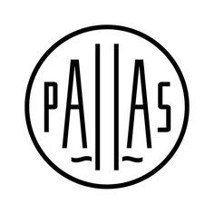 Pallas building logo for Alessandro Ripellino Arkitekter designed by BankerWessel.