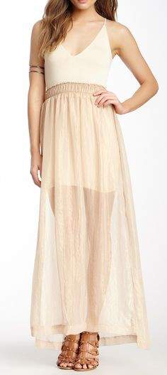 Nightcap Goddess Tank Gown reminds me of pipers gown when she was chosen