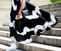13 Fashion Week Lessons That Work in Real Life Too 6. It's chic to be practical When you're going to be on your feet all day, a well-styled pair of sneakers just makes sense.
