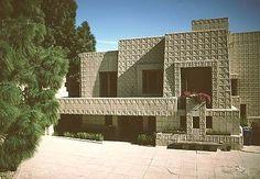 Ennis House ~ Frank Lloyd Wright