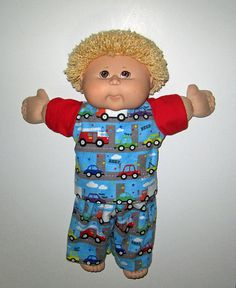 Cabbage Patch Kids  Doll Clothes Cars and Trucks  by Dakocreations