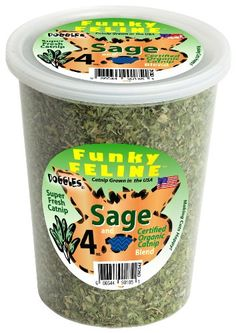 Save $4.79 on Doggles Sage Flavored Catnip Food, 4-Ounce; only $9.20