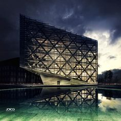 CGarchitect - Professional 3D Architectural Visualization User Community | Night & water