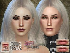 Mendel Lipstick for TS4 :)  Found in TSR Category 'Sims 4 Female Lipstick'