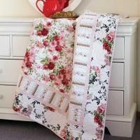 Cabbage Rose Quilt Kit
