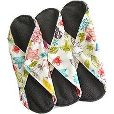 Heart Felt Bamboo Reusable XL Cloth Menstrual Pads (3 Pac...