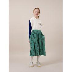 Bobo Choses - The Happy Sads midi skirt Boys Fall Fashion, Fall Fashion Outfits, Dress Skirt, Midi Skirt, Textiles, Stylish Kids, All About Fashion, Kids Wear, Toddler Boys