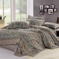 cheetah print bed set on pinterest cheetah print bedding cheetah