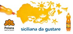 """Campagna pubblicitaria """"Siciliana da gustare"""" / 2012 / Bibite Polara, Modica (RG) Sicilia"""