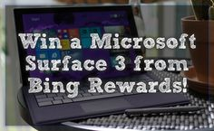 #Win Microsoft Surface 3 {ends 5/22} #giveaway