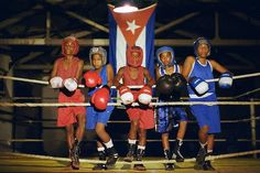 Cuban boxing (kids)