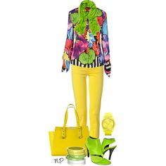 """Style the Cavalli Top"" by nuria-pellisa-salvado on Polyvore"