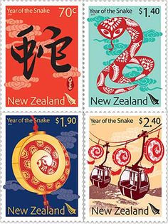 New Zealand, design by Bananaworks, Auckland - China, image credit: Hao Qunying/Xinhua  According to the Chinese calendar, today marks the lunar   new year's eve: 1.3 billion people from China and more  than 40 million Chinese around the world will celebrate   Chinese New Year, the Year of the Snake, actually the   most important of traditional Chinese holidays   that's also known as the 'Spring Festival'.