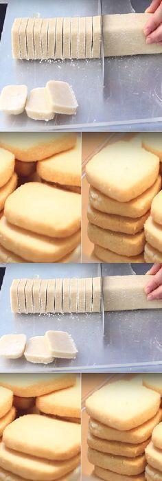 Galletas increíblemente suaves: ¡Necesitarás tan solo 3 ingredientes y 30 minutos de tiempo!  #galletas #recetas Si te gusta dinos HOLA y dale a Me Gusta MIREN … Baking Recipes, Cookie Recipes, Dessert Recipes, Desserts, Bolacha Cookies, Friend Recipe, Decadent Cakes, Pan Dulce, Tasty Bites