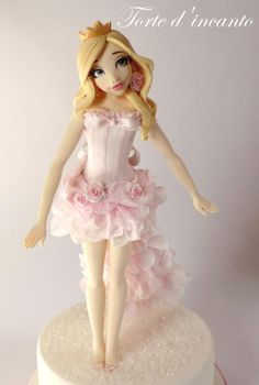 Princess Aurora - Cake by Torte d'incanto