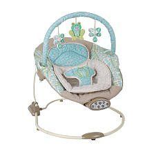 London Frog Bounce & Sway Musical Baby Infant Seat